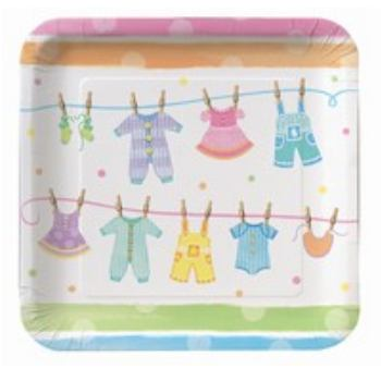 Baby Shower Clothes Bord