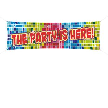 """Banier """"The Party is here"""""""