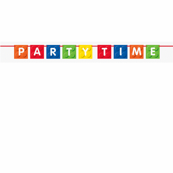 Lego Banner Party Time