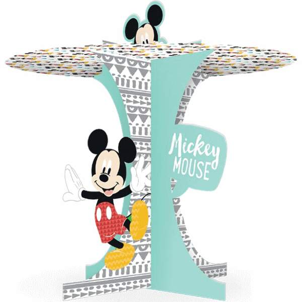 Mickey Mouse Pastel Etagere