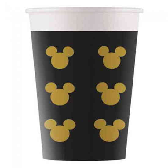 Mickey Mouse Bekers Goud-0