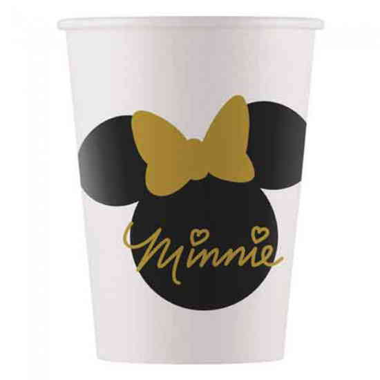 Minnie Mouse bekers goud-0